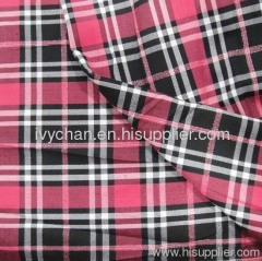 Yarn dyed checks fabric for dress