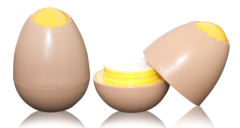 egg cosmetic jar PP container