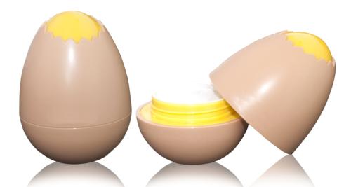 Egg shape package 30g cream PP jar