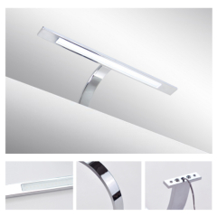 LED chrome mirror light