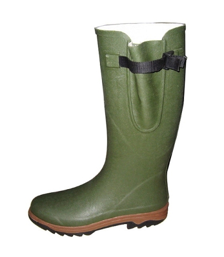 Green Hunter Boots For Man