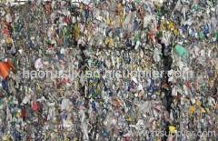 China waste PET bottle for make fibre