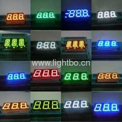 3 digit 7 segment display;3 digits seven segment led display
