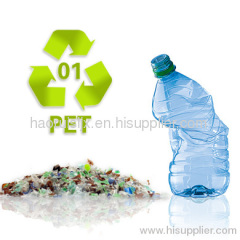 waste plastic PETE bottle Recycling Machine