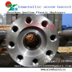 injection machine bimetallic screw barrel
