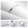 Italy Modern design chrome aluminum 220mm bathroom mirror led light / 3W bathroom mirror lamp CE ROHS IP44 110V/220V AC