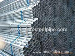DIN2391 HOT DIPPED GALVANIZED STEEL PIPE