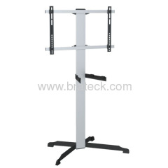 TV cart with universal TV bracket