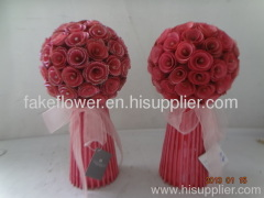 wedding flower bush decoration