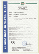 LVD certificate of LED Bulbs 2