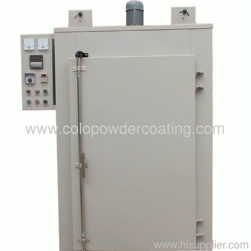 electrostatic Powder Coating Oven with track