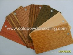thermal transfer printing powder coating