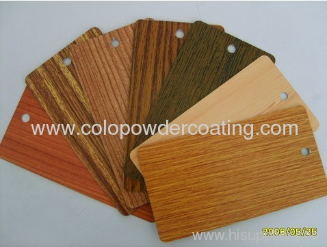 thermal transfer printing powder coating