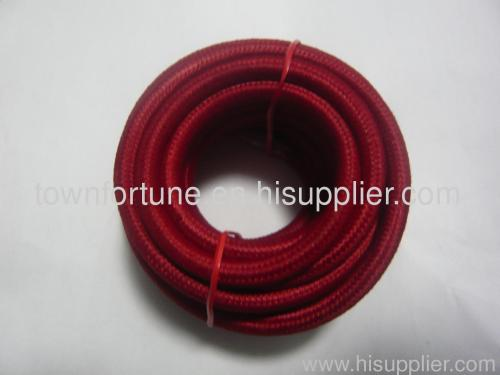 Cotton braided cord 2x0.75mm2