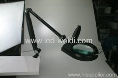 Magnifier LED Swing Arm Clamp
