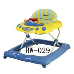 BW-029- Musical Baby Walker-Blue and Yellow