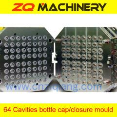 plastic bottle cap closure mould