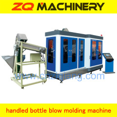 PET handled bottle production line