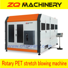 rotary stretch blow molding machine