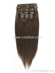100%human chip in hair extension