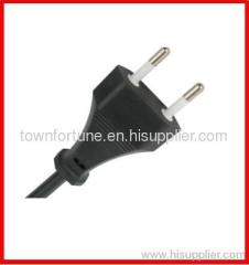2.5A EURO 2 PIN POWER CORDS