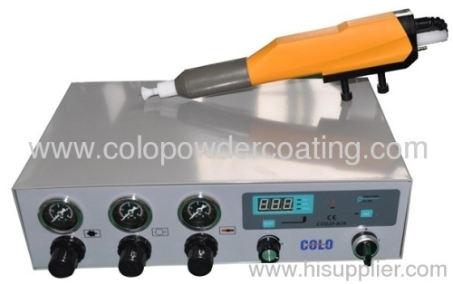 automatic powder coating gun system