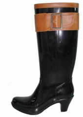 Ladies' High Heels Rain Boots