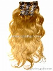 2013 new chip in hair extension(have chips)