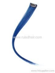 100% human hair extension/chip in hair extension