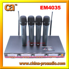 Excellent quality UHF Wireless Microphone EM4035