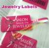 Custom Jewelry Labels,Spacing adhesive Jewelry Labels with gloss finished