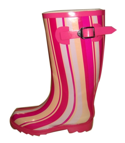 Ladies' Wellies With Colorful Printing