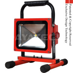 Rechargeable Portable LED Work Flood Light 20W CREE LED