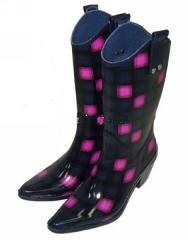 Ladies' Fashion High Heels Boots