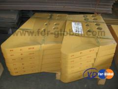 Komatsu D375A-2 bulldozer end bits 195-71-61940