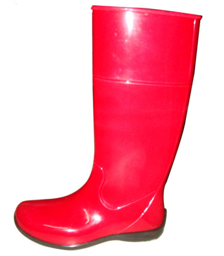 PVC Fashion Rain Boots For Girl