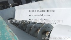 Efficient Rinse washing machine for scrap plastics
