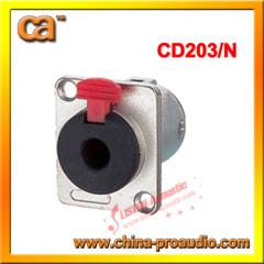 6.3 female socket/mono / stereo female jack socket1/4