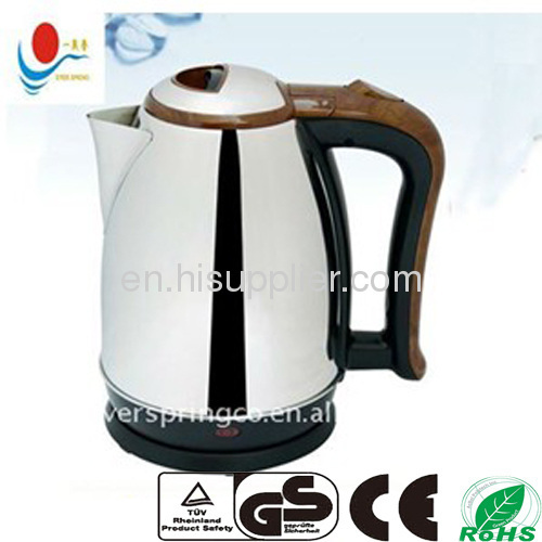 Cordless electric kettle promotional model
