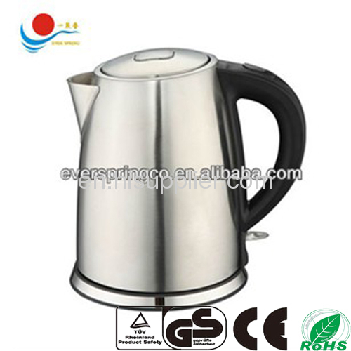 boiling water kettle 202s/s with CE GS ROHS