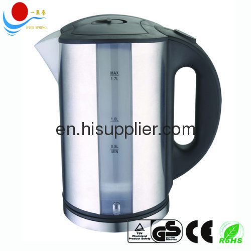 elctric tea kettle 1.7L with CE ROHS GS
