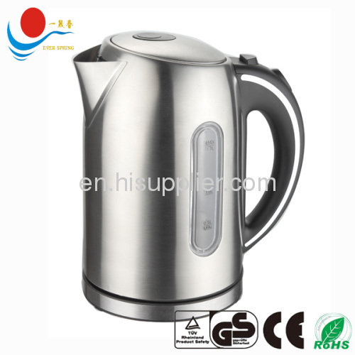 Fast heating instant electric kettle 1.8 L With CE ROHS GS