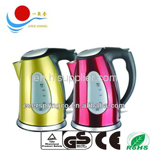electric kettle for kitthen with GS CE ROHS