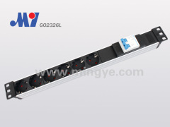 PDU Socket with double air switch