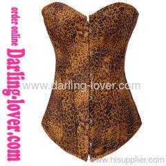 Sexy Fashion Leopard Wholesale Corset