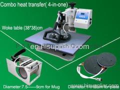 Combo heat transfer(4-in-one machine )