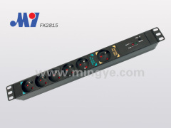 6 ways French PDU socket