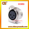 Female XLR 3P Socket CC053