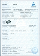 TUV/GS Certificate (16 Series Greman Socket with cable)