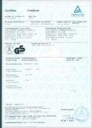 TUV/GS Certificate (German Adapter Plug GNS3101)